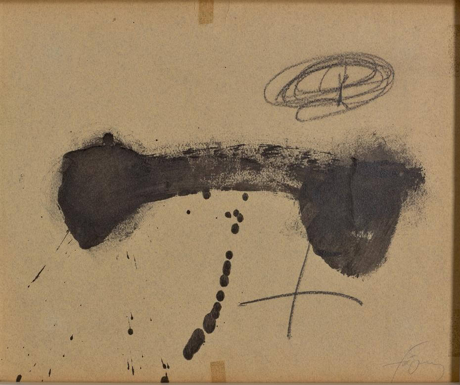 Antoni Tàpies,《Untitled》,1968。圖/鍾經新提供