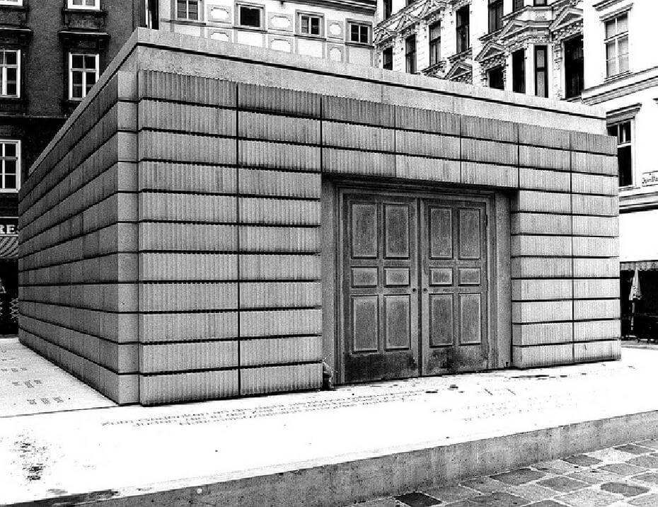 瑞雪.懷瑞德《大屠殺紀念碑》(Holocaust memorial),2000,於猶太人廣場中心。