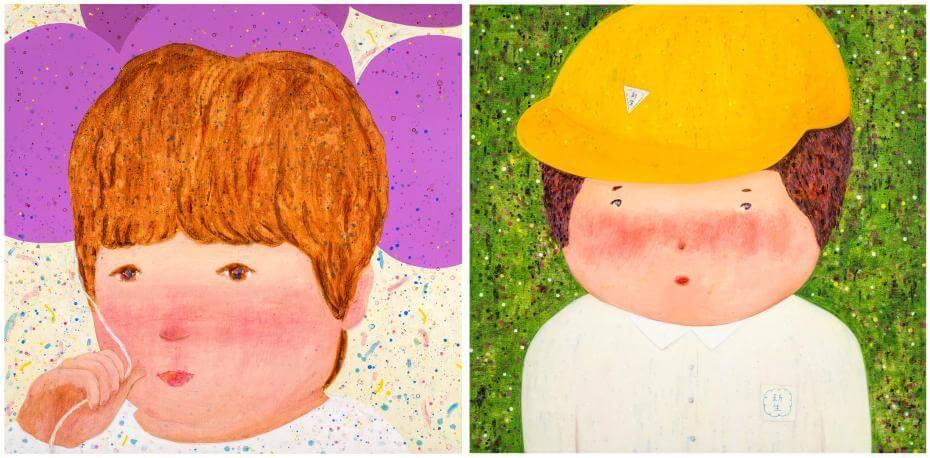 羅喬綾《理想的世界》。圖/尊彩藝術中心提供