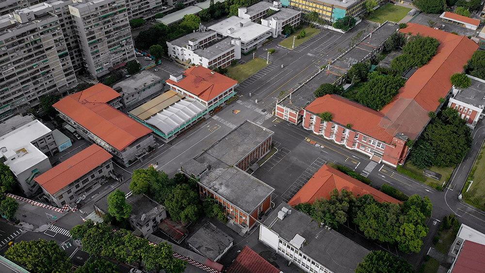 臺灣當代文化實驗場園區。