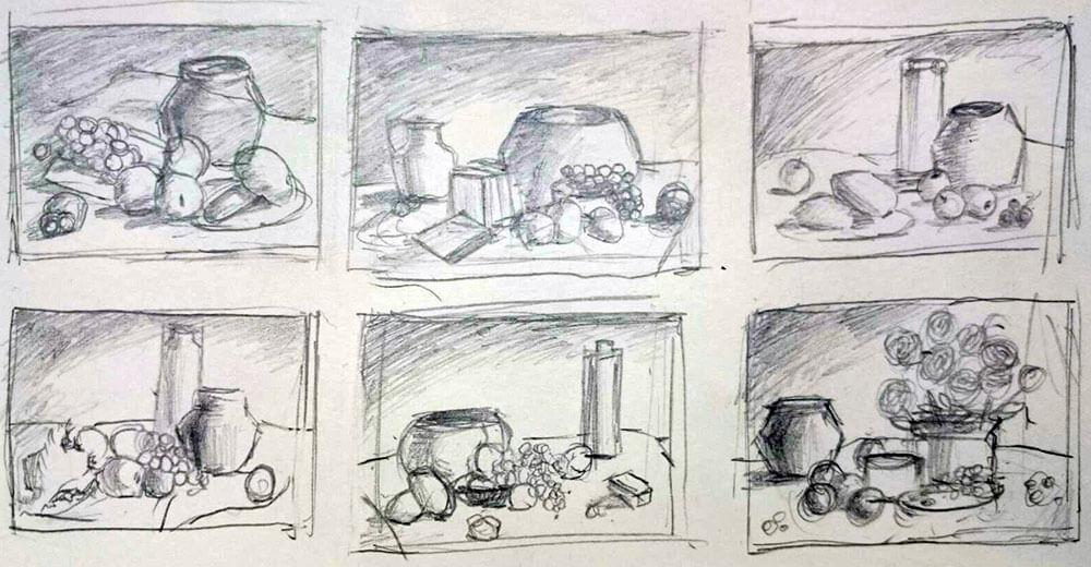 藝術家繪圖手稿。圖/曾寶萱提供。
