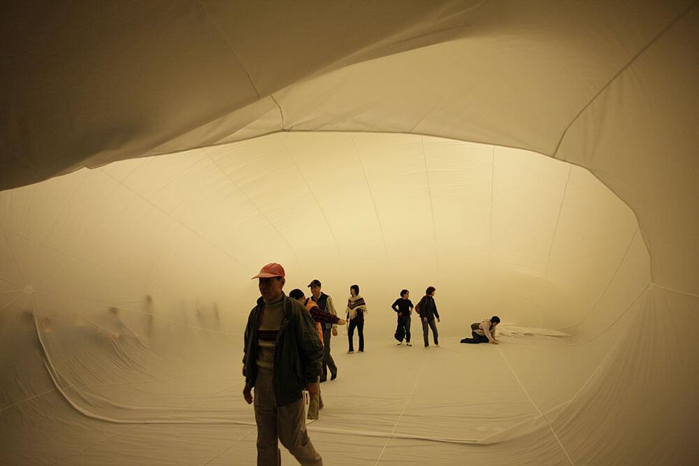 王德瑜,《No.65》,2010。圖/國立臺北藝術大學關渡美術館提供,攝影: 劉躍。