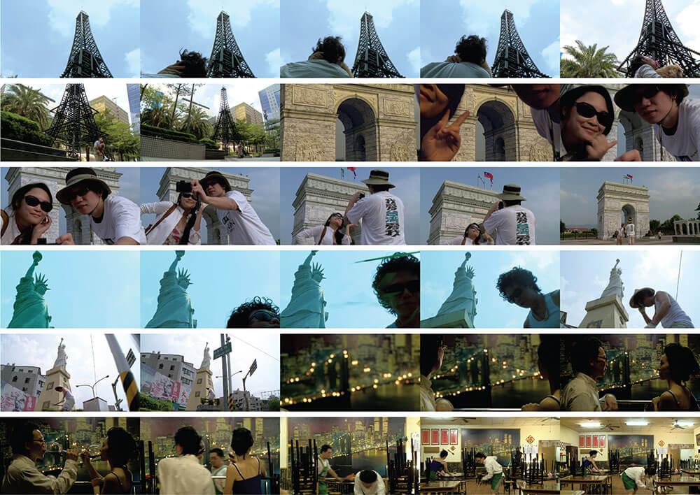 崔廣宇,《隱形的城市:台巴黎・約克》。圖/藝術家提供。