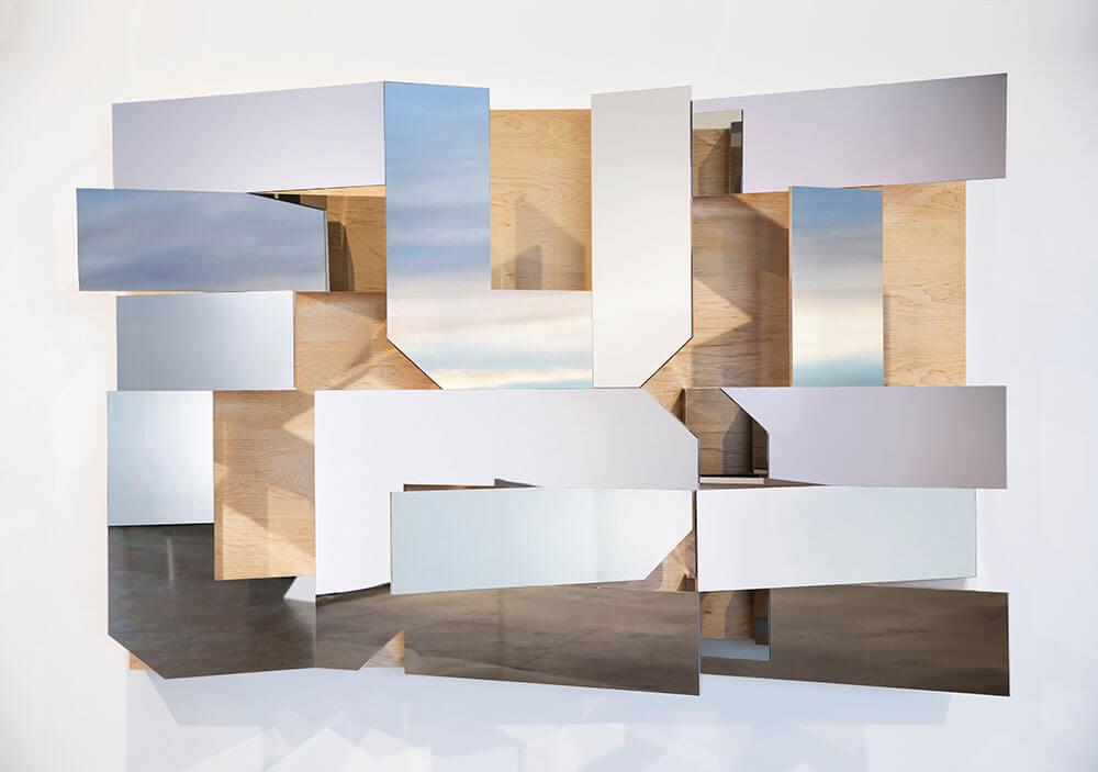 Doug Aitken,《Future》,鋁、不銹鋼、膠合板,2/4,2017。圖/台北國際藝術博覽會提供。