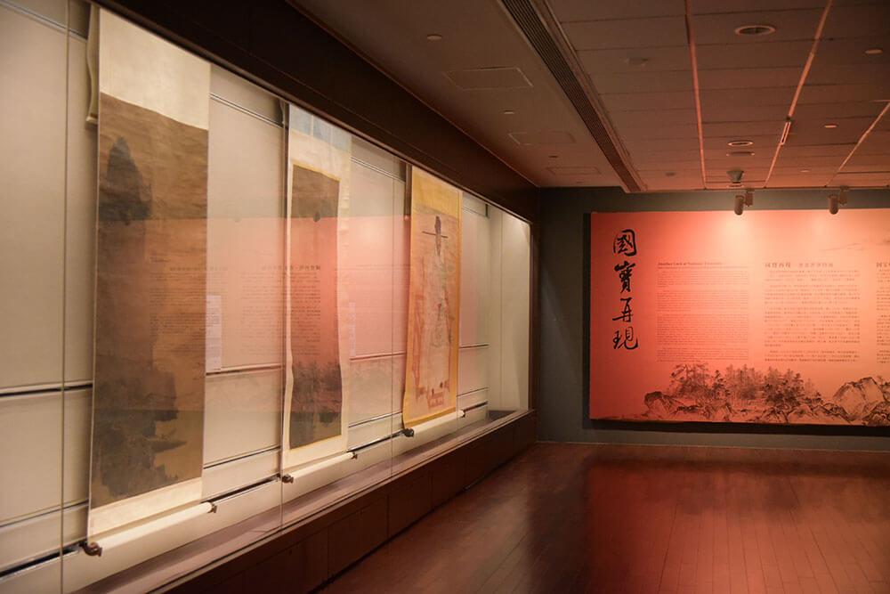 【國寶再現—書畫菁華特展】展間照。圖/故宮博物院提供。