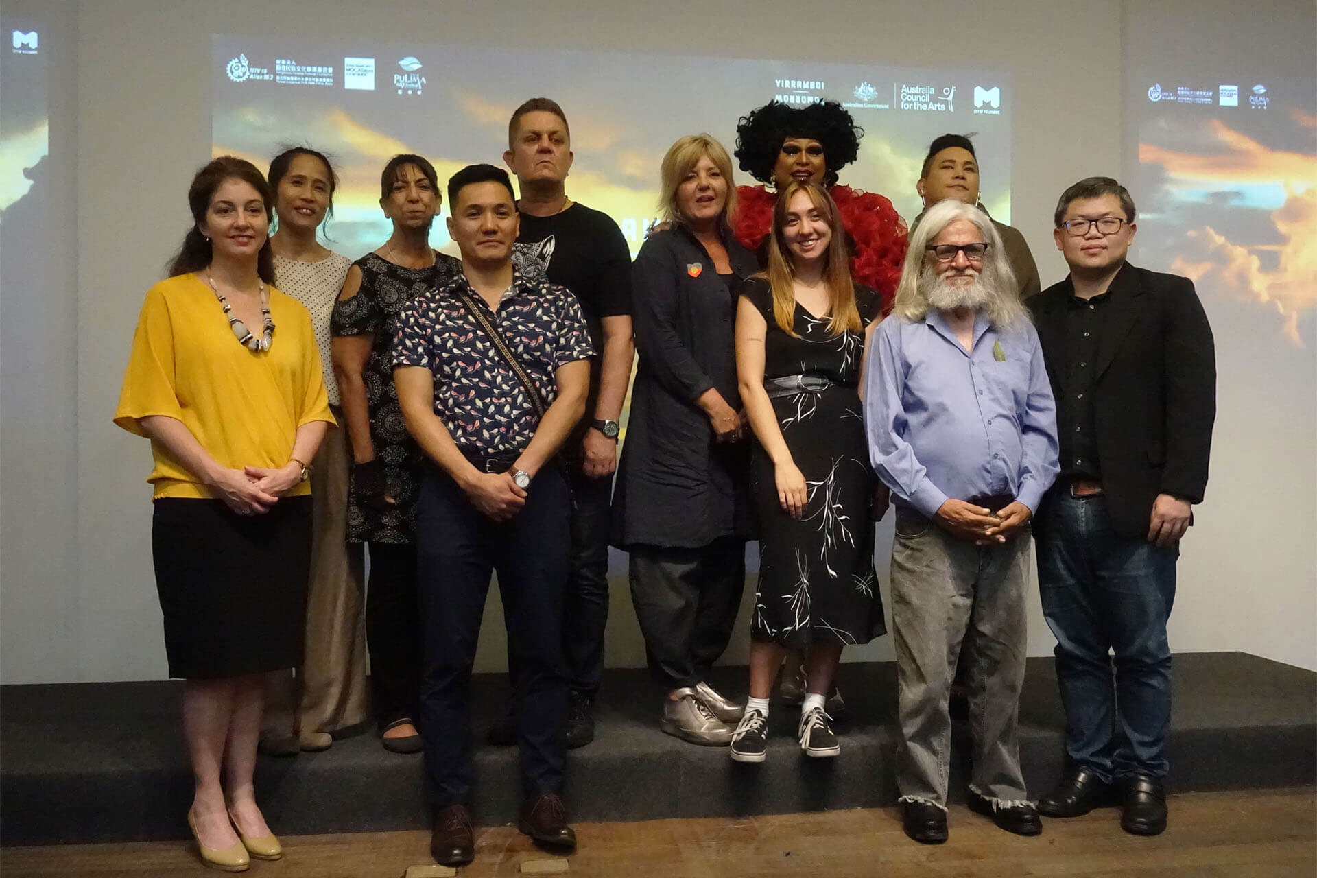 「2018PULIMA藝術節」X 澳洲「Yirramboi明日藝術節」記者會