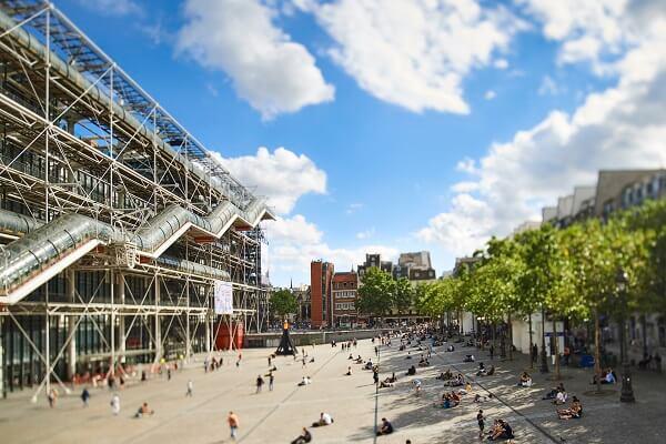 巴黎龐畢度兒童藝術中心圖。主辦單位聯合數位文創提供。