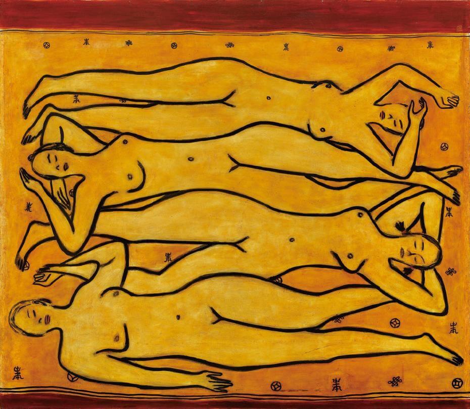 常玉|四女裸像(藝術微噴)