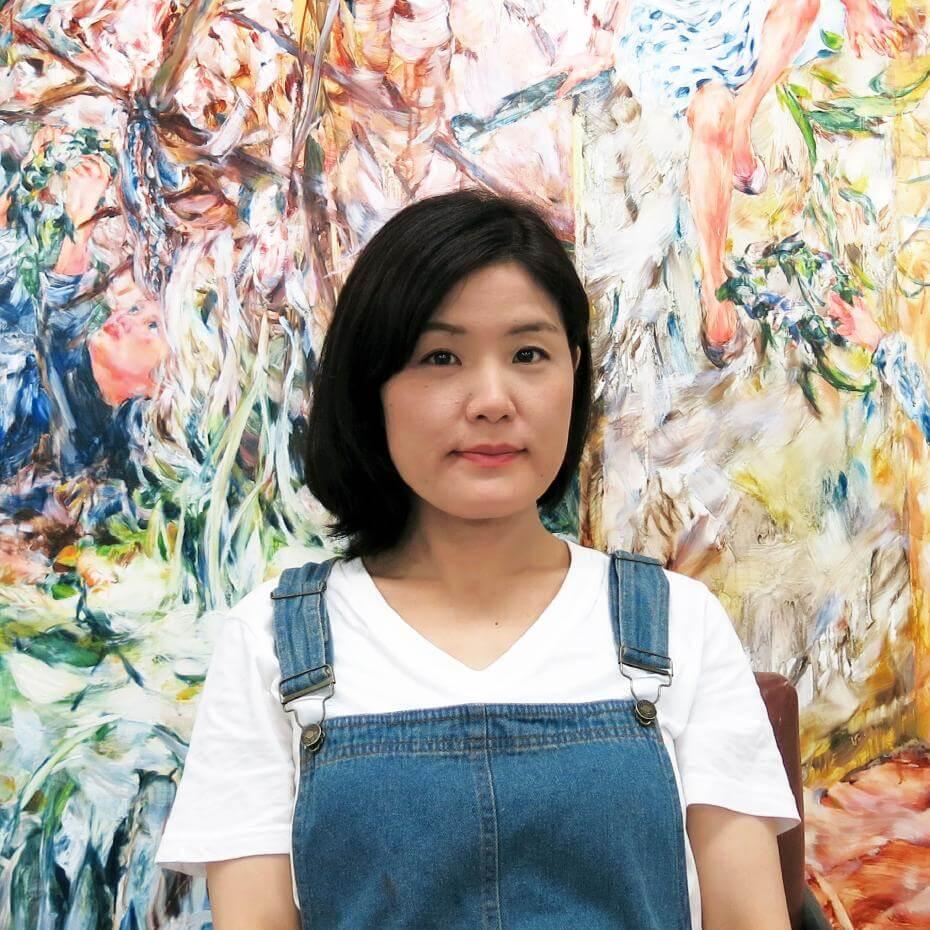 藝術家。Image: (C)Maiko Kasai. Courtesy of & Yuka Tsuruno Gallery.