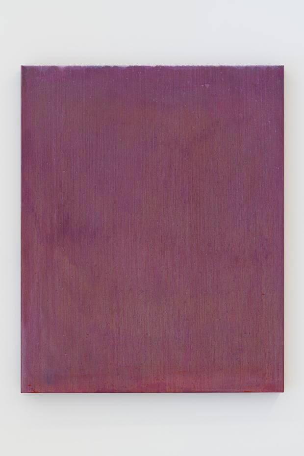 流麻二果,《色彩的蹤跡:雷諾瓦的沐浴年輕女子》,油彩畫布,2018。