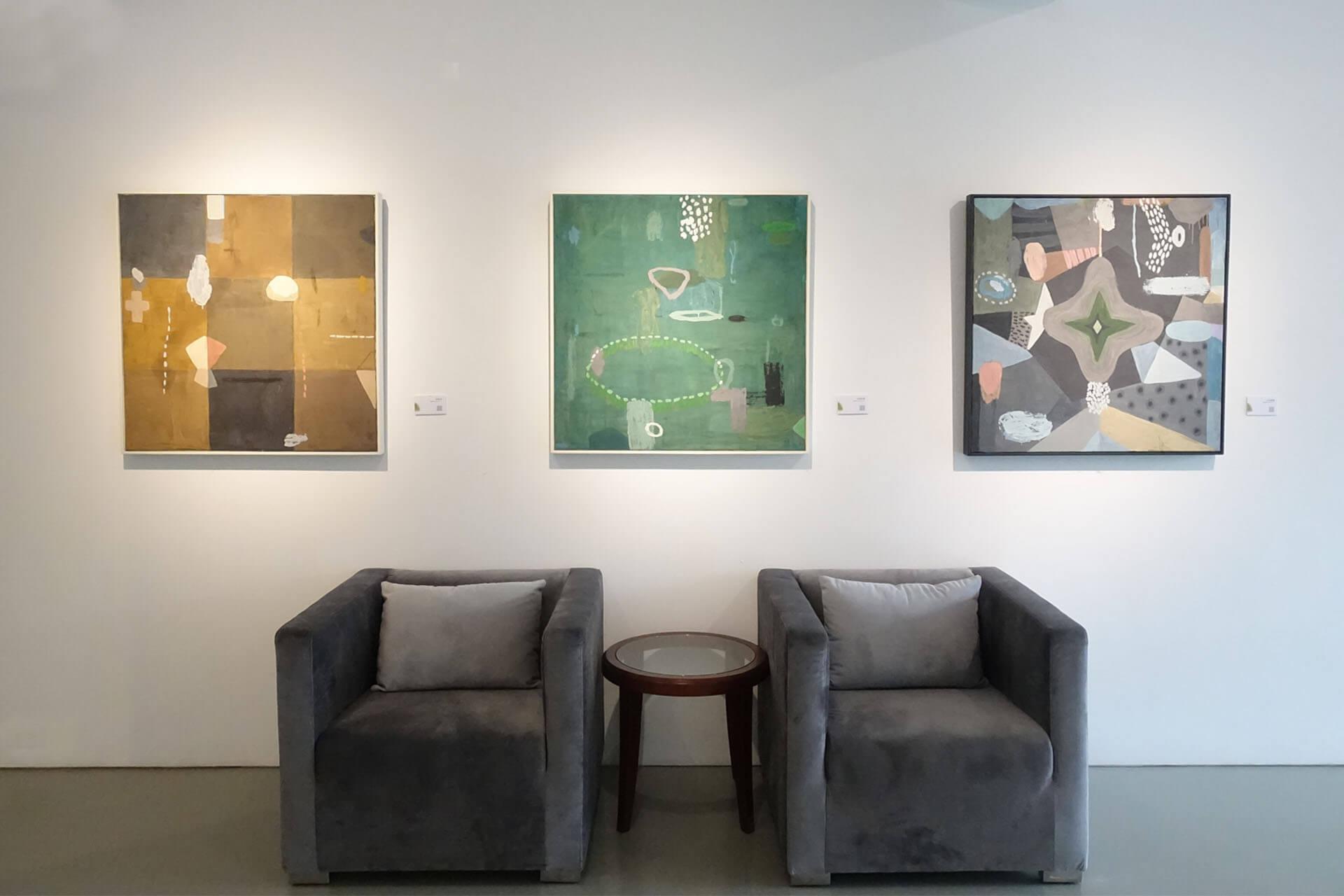 日升月鴻畫廊:如浮雲、如日光─黃小燕個展