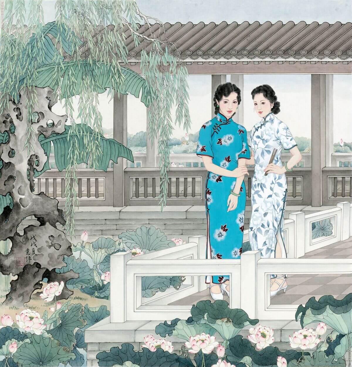 王意評-消夏
