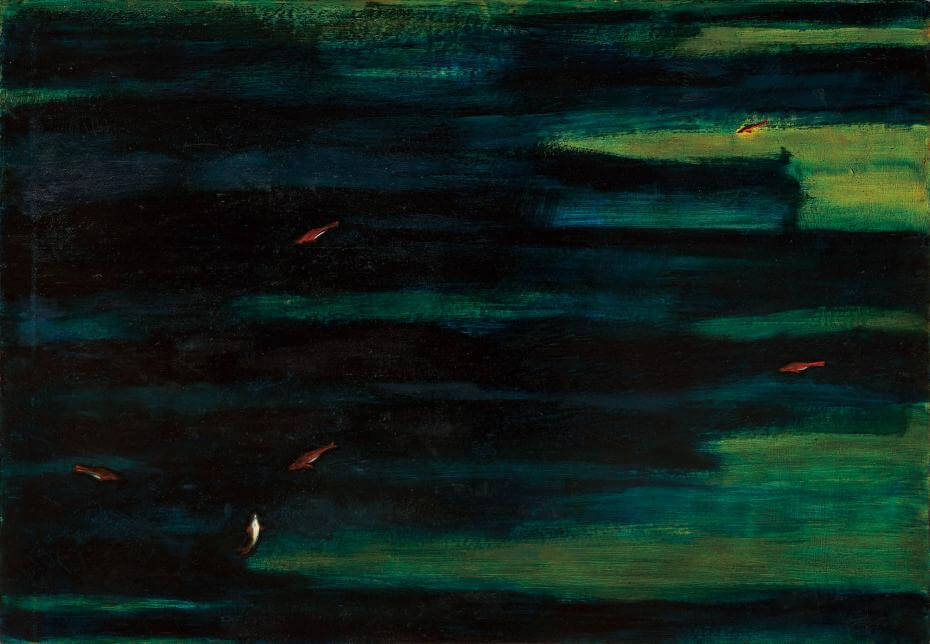 常玉|魚(藝術微噴)