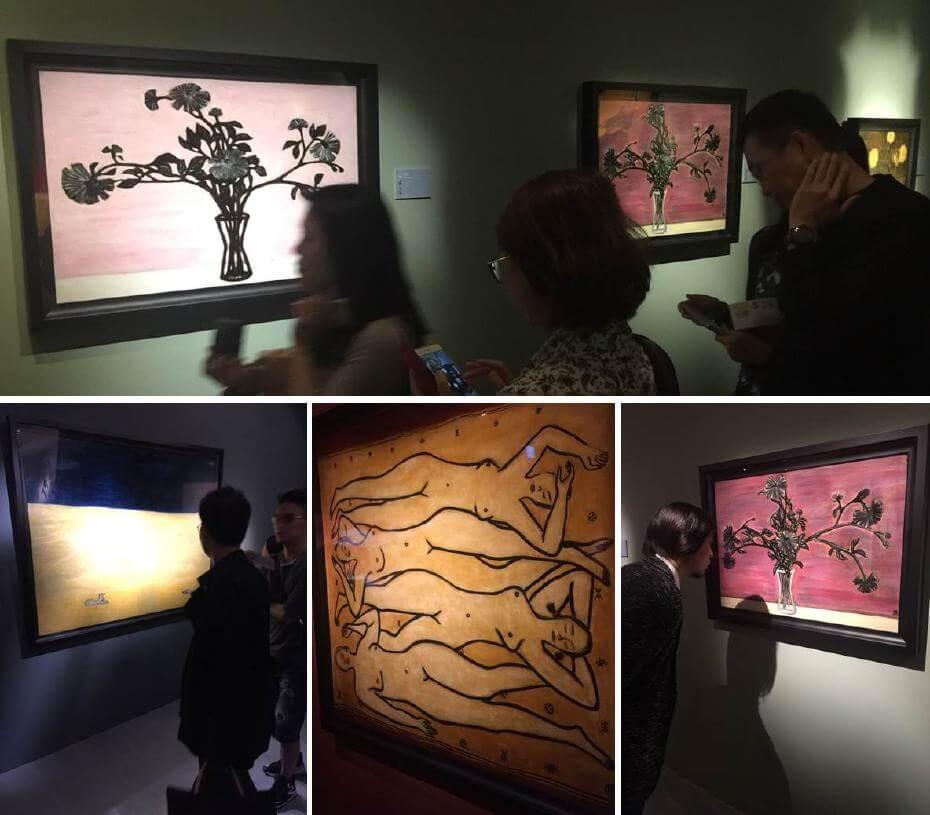 台灣的歷史博物館適逢常玉逝世五十週年舉辦《相思巴黎─館藏常玉展》;非池中藝術網提供