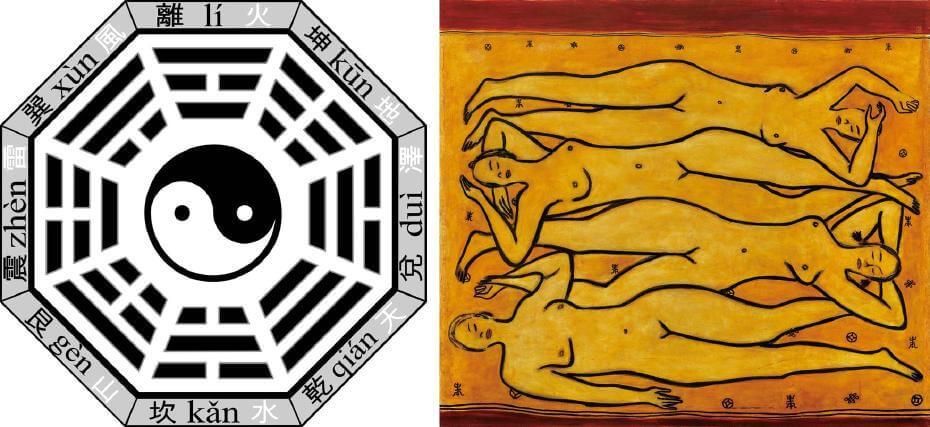 太極陰陽與八卦;常玉|四女裸像(藝術微噴)