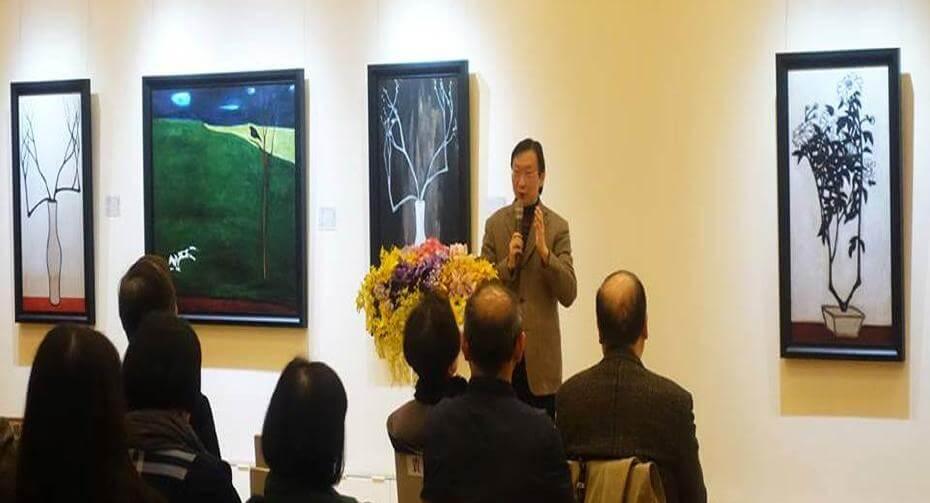 帝圖2018年舉辦《相思巴黎館藏常玉-限量藝術微噴展》;非池中藝術網提供