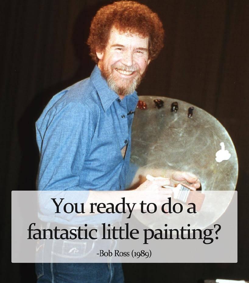 【影音】Bob Ross的理想與堅持 《歡樂畫室》帶給觀眾的快樂