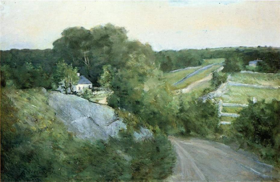 「加東朝霞・春景色」─ 加拿大裔美國畫家歐內斯特·勞森 Ernest Lawson
