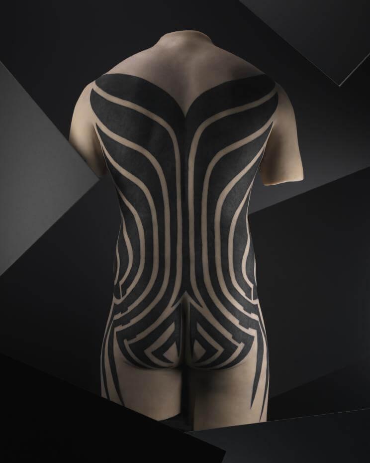 來回毫米之間,探索身體最深的表層  高美館與法國國家凱布朗利博物館《刺青-身之印》特展作品搶先曝光!