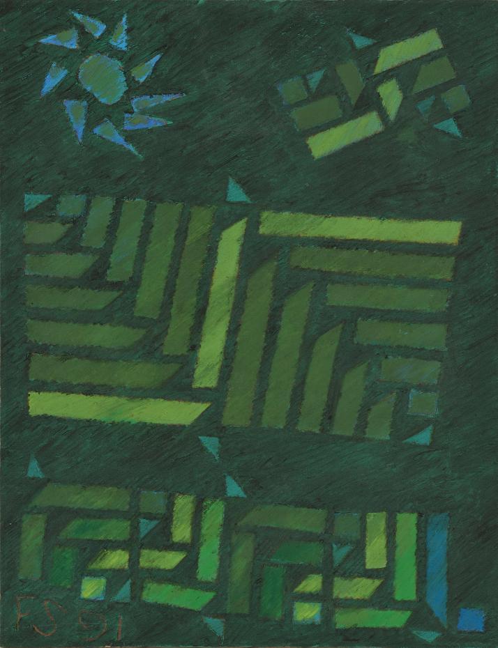 作為戰後抽象繪畫的例外─從「空間的動態─法賈希迪個展」眺望印尼戰後藝術場域 與當前市場的耕耘